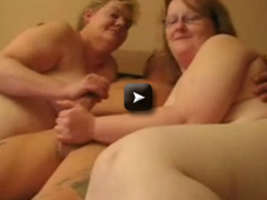 Having fun with two fat mature sluts. Amateur home made