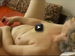 masturbate hairy pussy use dildoand cucumber